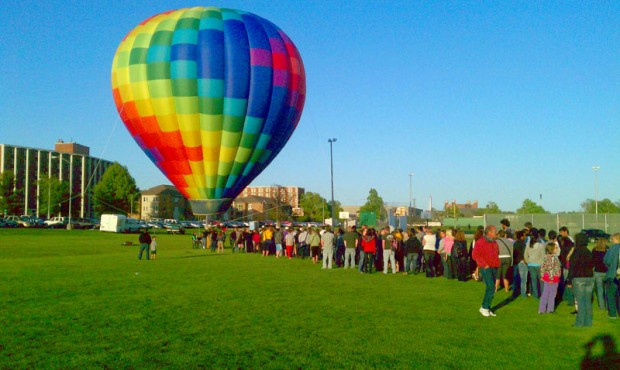 Hot Air Balloon Tether Rides - BalloonStormers